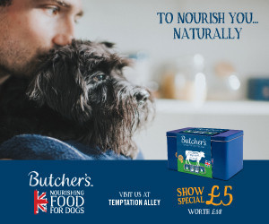 Butcher's Nourishing Food For Dogs advert