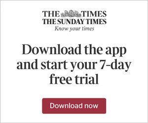 The Times advert