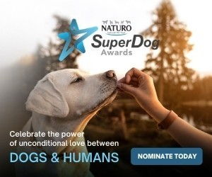 Naturo Super Dog Awards advert