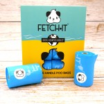 FETCH·IT Compostable Poo Bags with Tie Handles (120 Bags) image