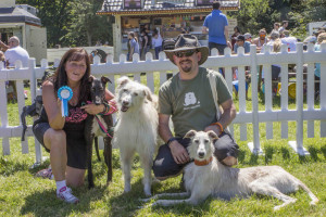 Fun Dog Show participants